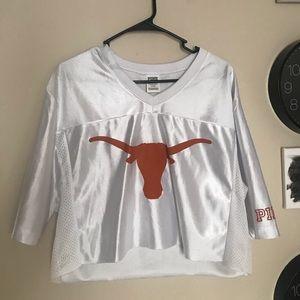 UT longhorns cropped jersey
